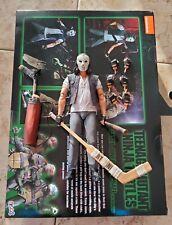 NECA TMNT Casey Jones loose Figure Ninja Turtles 2 pack Walmart Exclusive