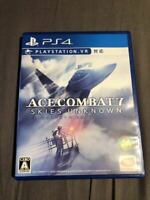 Ace Combat 7: Skies Unknown PS4 BandaiNamco Used Japan Flight Shooter Boxed