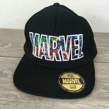 MARVEL Comics Junior Cap Baseball Hat Adjustable Snap Back Black COTTON R523-16