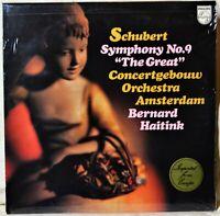 Schubert Symphony No 9 The Great Concertgebouw Amsterdam LP SEALED Haitink NEW