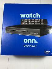 Watch Onn. Dvd Player (Hdmi), Black + Preowned + Good Shape + Fast U.S. Shipping