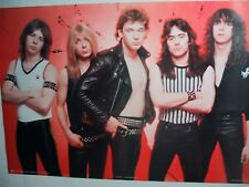 Iron Maiden Poster Mint Condition Very Rare