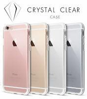 Transparent Clear Silicone Soft Gel Case for iPhone 6 6S 6Plus 6SPlus, 7 & 7plus