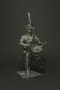 Tin soldier figure Drummer of the Life Guards Lithuanian Regiment 54 mm