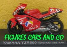 1/24 MOTO GP N°50 SERIE 1 YAMAHA YZR 500 2001 NORICK ABE #6