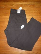 NWT POINT ZERO M6 EURO FIT STRETCH BLACK JEANS SZ: 36 X 38