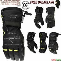dernier VIPER SHADOW-8 gants adultes hiver renforcé textile moto ce approuvé