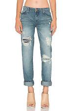 BlankNYC Distressed Boyfriend Jeans (26) Kind of a Big Deal Wash EUC 7283