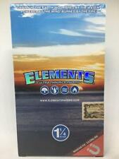 FREE GIFTS🎁Elements 1 1/4 Ultra Thin Rice🍚Rolling Paper🌏💦💨🔥Full📦Box 25 pa