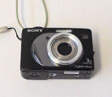 Sony Cybershot Dsc W12 Compacto 5.1MP Fotografía Digital Cámara negro