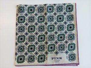 BNWT - THOMAS PINK SHIRTMAKER LONDON Pocket Square / Hankerchief - RRP £35