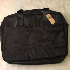 American Eagle Outfitters Laptop/Messenger Bag, Black Camo, Pockets, NWT, Travel