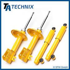 4x Amortiguador Deportivo presión del gas delantero trasero - FIAT CINQUECENTO,