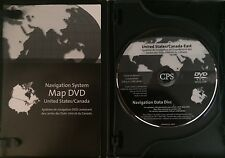 2008 2009 2010 CADILLAC STS STS-V NAVIGATION MAP CD DVD EAST US CANADA 4.00 OEM