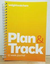 NEW Weight Watchers PLAN & TRACK 12 Week Journal/3 Months Planner Diary Tracker
