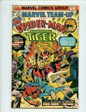 Marvel Team up #40 (1972 Series) Spiderman and Son of The Tiger FN+ 6.5