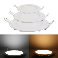 3W 15W 24W LED Ceiling Lights Dimmable Panel Down Light Lamp Kitchen Bedroom