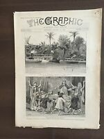"""THE GRAPHIC"" (A Beautifully Illustrated British Weekly Newspaper)--Jan 26,1889"