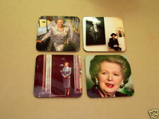 Margaret Thatcher British Prime Minister Coaster Set
