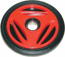 "SKIDOO PPD OEM IDLER WHEEL 165MM RED 6.50""X25MM"" IDLER WHEEL 541-5014"