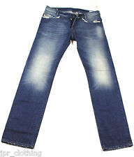 BRAND NEW DIESEL POIAK 880E JEANS 30X32 0880E REGULAR SLIM FIT TAPERED LEG