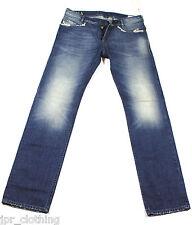 Neuf Diesel Poiak 880E Jeans 30X32 0880E Regular Slim Fit Tapered Leg