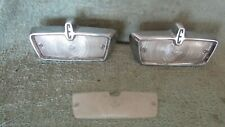 OEM 1958-60 Edsel Backup Lamp Reverse Light Matched Pair Left & Right Complete