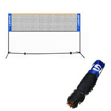 Volleyball Tennis Net Set with Stand Frame Carry Bag Portable Badminton USA
