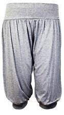 New Ladies Women 3/4 Baggy Harem Alibaba Trouser UK Size 8-26