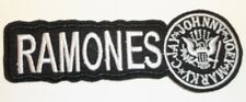 "Ramones Embroidered Applique Patch~4 1/2"" x 1 9/16""~Iron or Sew On~Ships Free"