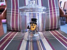MR. PEANUT PLANTER'S (BIG) COUNTER DISPLAY JAR GLASS