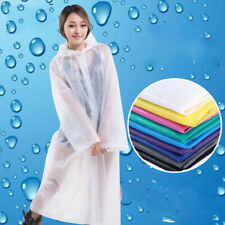 Raincoat Waterproof Poncho Reusable Plastic Adult Camping Festival Rain Coat Hot