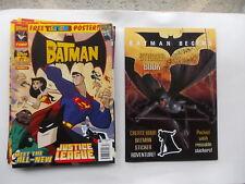 Job Lot of The Batman Comics + Batman Begins Sticker Book  (X11)