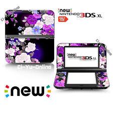 [new 3DS XL] Flower #1 Rose Purple VINYL SKIN STICKER DECAL COVER