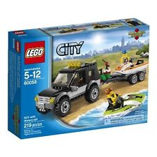 60058 SUV WITH WATERCRAFT lego city town SEALED jetski wave runner legos set NEW