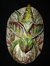 206 RARE ANIMAL MEXICAN WOODEN MASK artesania zompantle madera tallada a mano
