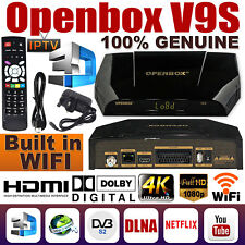 GENUINE OPENBOX V9S HD Freesat Smart TV Satellite Receiver Box For Skybox F5S HQ