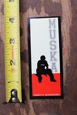 SHORTY'S Skateboards Chad Muska 90's Vintage Skateboarding STICKER