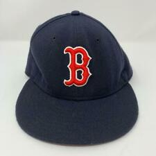 Boston Red Sox MLB New Era 59FIFTY Fitted Hat Size 7 1/8 Official On-Field Cap