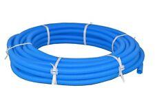 Flexibles Wellrohr M28 25 m Blau Ring Elektrorohr Schutzrohr Leerrohr