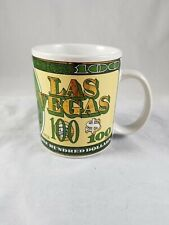 Las Vegas Souvenir 10oz. Mug Graphic $100 Dollar Bill