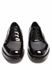 $945 VALENTINO  Men Patent-leather Oxford shoes size 42