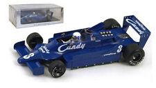 Spark S1734 Tyrrell 009 #3 Belgium GP 1979 - Didier Pironi 1/43 Scale