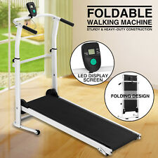 Manual Treadmill Folding Portable Running Gym Fitness Walking Machine