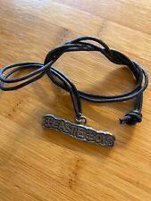 Beastie Boys Check Your Head Logo Necklace Vintage Hip-hop