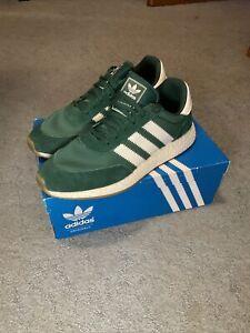 Adidas Iniki Runner Green by9726 Size 11.5