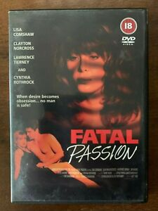 Fatal Passion DVD 1995 Erotic Thriller Movie w/ Lisa Comshaw