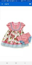 Matilda Jane Baby Girls Sunny Skies Dress Sz 12-18 months New in Bag 12/18