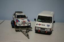 OTTO Fiat Van & Lancia Monte Carlo Rally Set 1:18 OT349 Ltd Resin