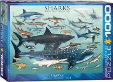 Eurographics Sharks 1000pc Puzzle Eur60079